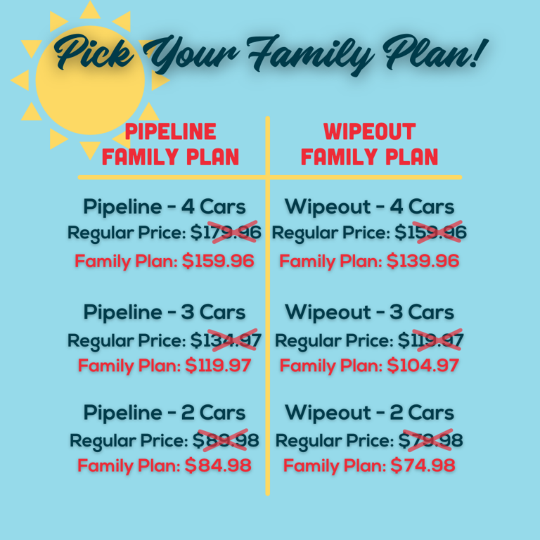mutli car discount and family plan