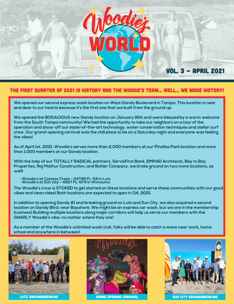 woodies world newsletter pic page 1